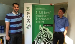 Andrej & Mitja - the Zebra BI team