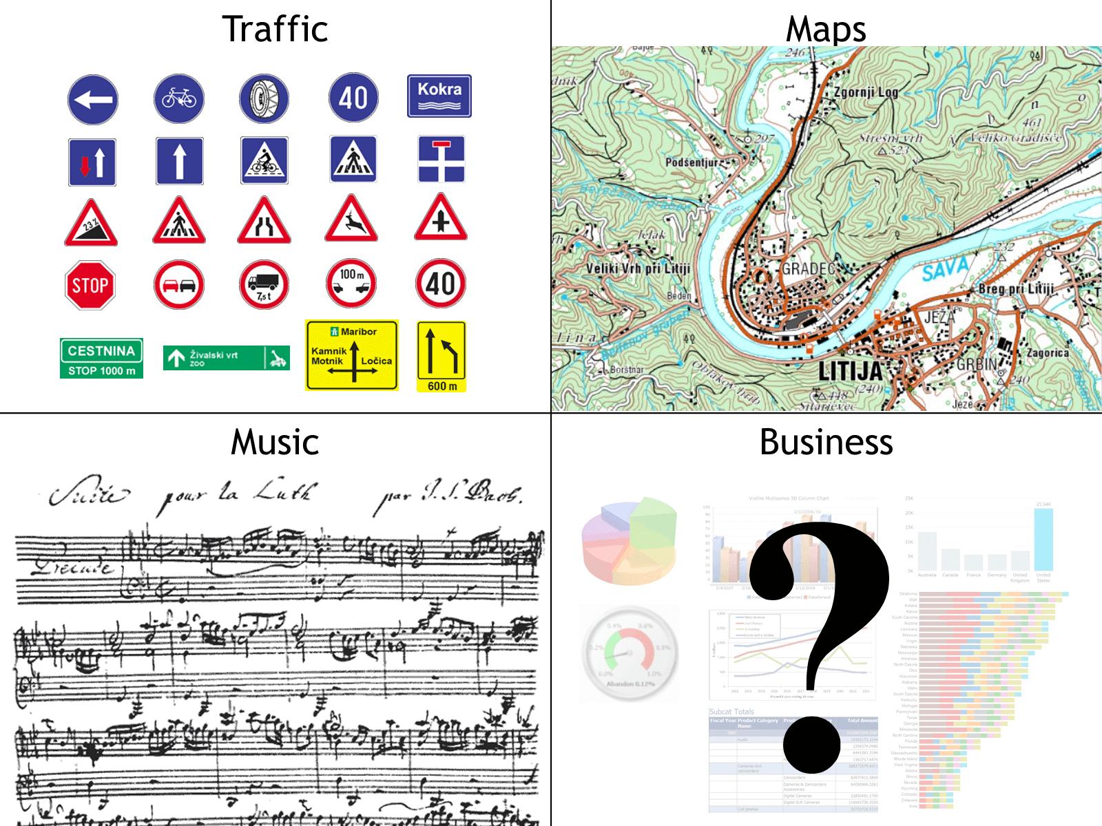 Traffic Maps Music Business