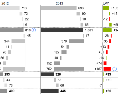 IBCS Compliant Profit & Loss Report