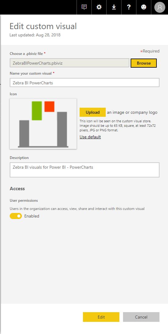 pbi-edit-custom-visual - Zebra BI financial reporting in