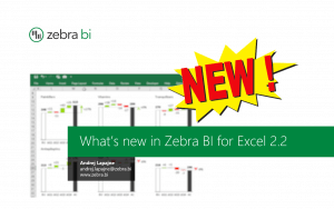 What's new in Zebra BI for Excel 2.2 webinar