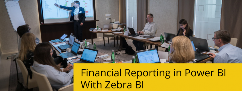 Power BI finance reports