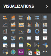 Power BI visualisations pane Zebra BI icons