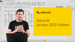 Zebra for Power BI January Update