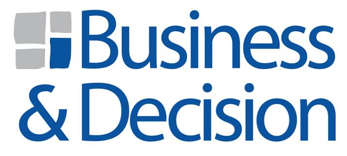 Business & Decision logo. Zebra BI partner.
