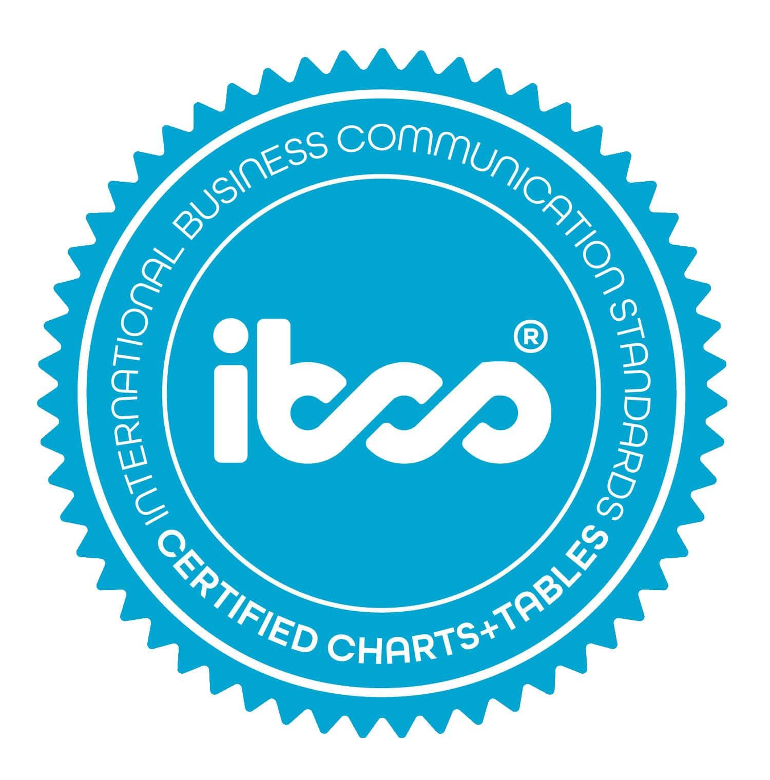IBCS certificate for Zebra BI custom visuals for Power BI.