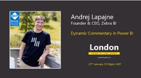 Power BI User Group London Meetup event