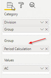 Adding Period calculation field to Group placeholder