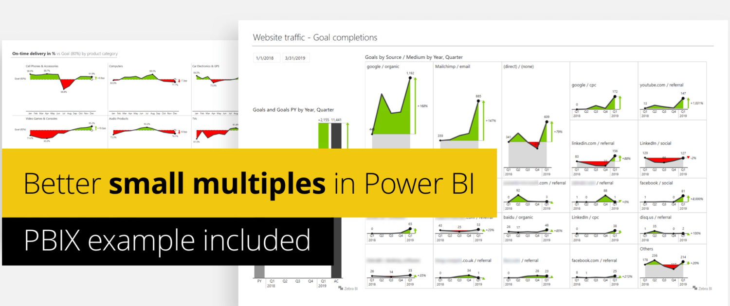 Small Multiples in Power BI