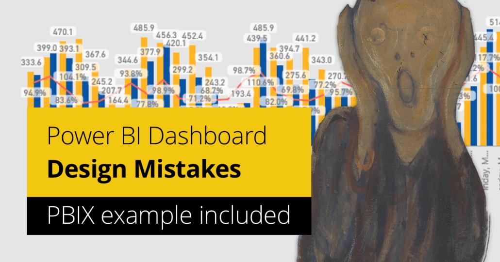 Power BI Dashboard Design Mistakes