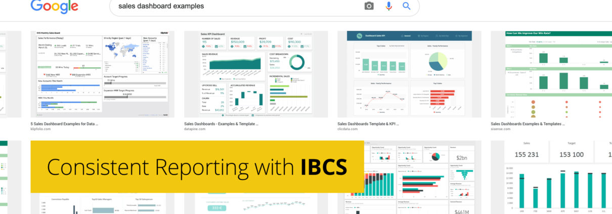 Consistent Reporting with IBCS