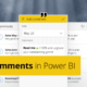 Writeback Comments in Power BI using Power Apps - Featured image
