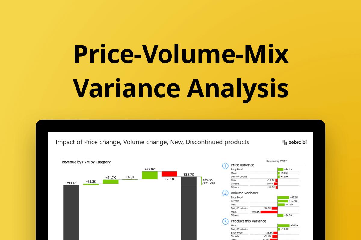 price volume mix variance analysis